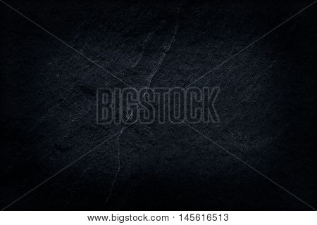 Dark gray abstract black slate stone background or texture.
