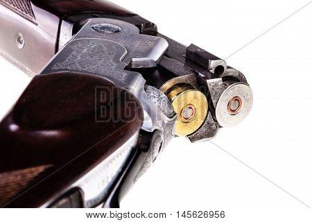 Loaded Shotgun Isolated