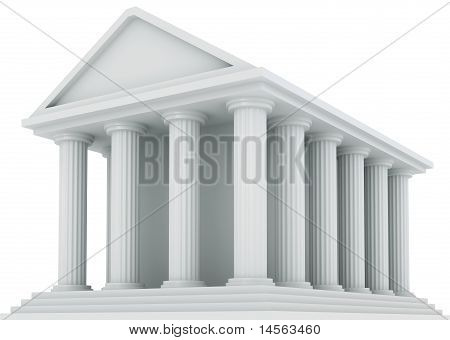 Ancient Financial building