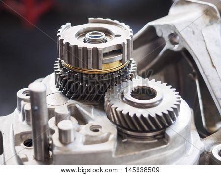 Operator Repair Gear Box