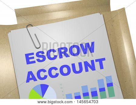 Escrow Account Concept