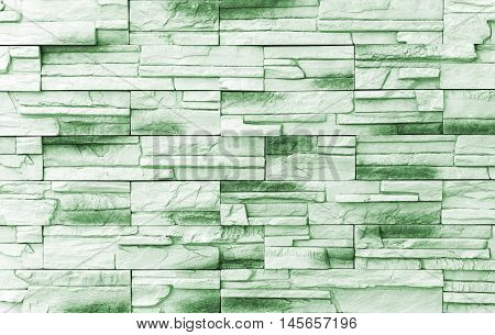 Brick wall background / Old green Bricks Wall Pattern brick wall texture or brick wall background on day noon light for interior or exterior brick wall building and brick wall decoration texture.