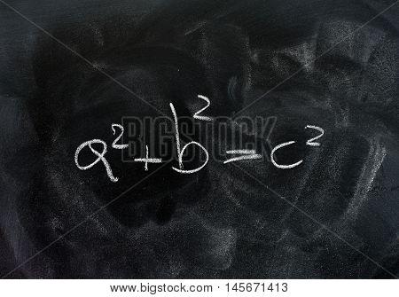 Pythagoras Theorem Triangle Solution Formula