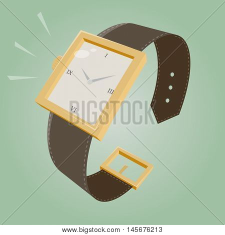 retro cartoon watch
