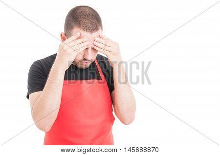 Hypermarket Seller Having Headache