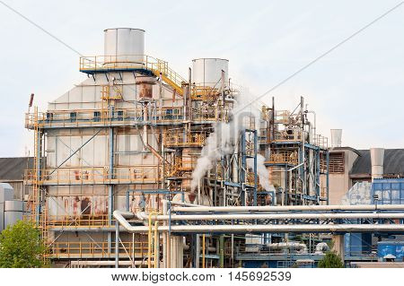 Chemical Plant Of Factory