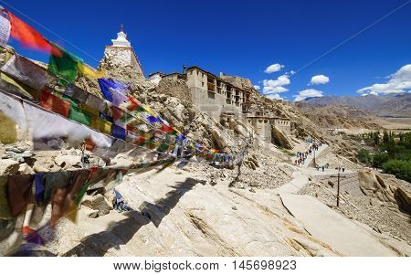 Shey Palace Monastery Leh Ladakh Jammu and Kashmir India