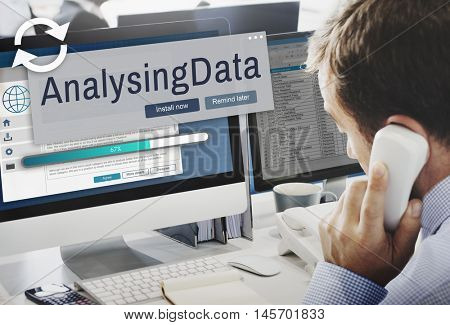 Analysing Data Information Analysis Assessment Concept