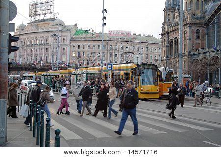 Train Station, Budapest, Hungary