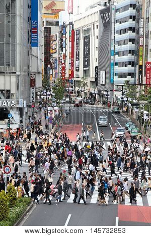 Hachiko Crossing, Tokyo