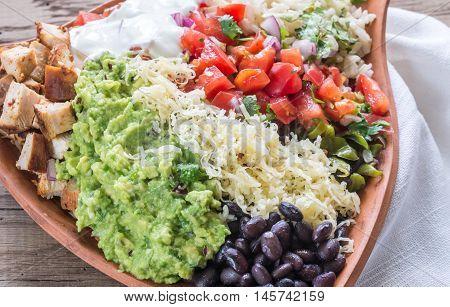 Chicken Burrito Bowl