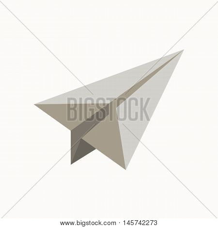 sheet of paper waste flat concept.  Vector illustration of sorting sheet of paper waste. Icon of sheet of paper waste for garbage disposal design.  sheet of paper waste sorting management .