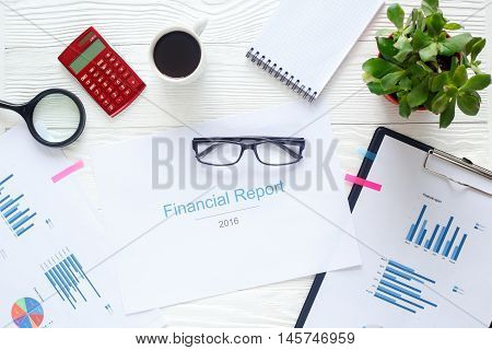 workplace economist at bright new office table