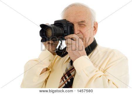 Senior Successful Press Photographer