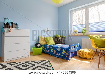 Vivid Colors In A Child Room