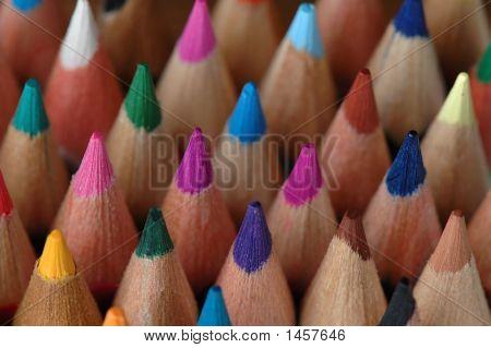 Wood Of Pencils