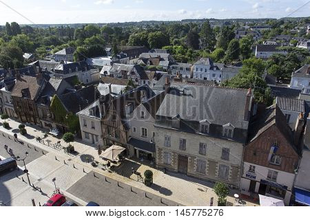 View From The Castle Of Amboise