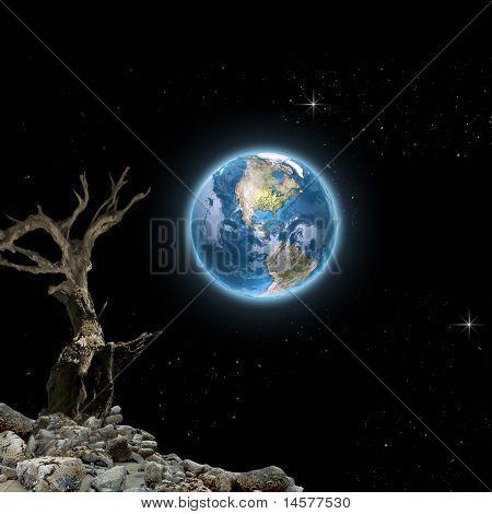 .moon Vision- Mystic Background For Your Desktop