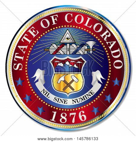 The seal of the United States state of Colorado