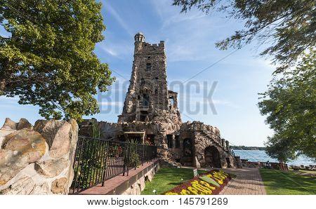 Boldt Castle on the St. Lawrense seaway