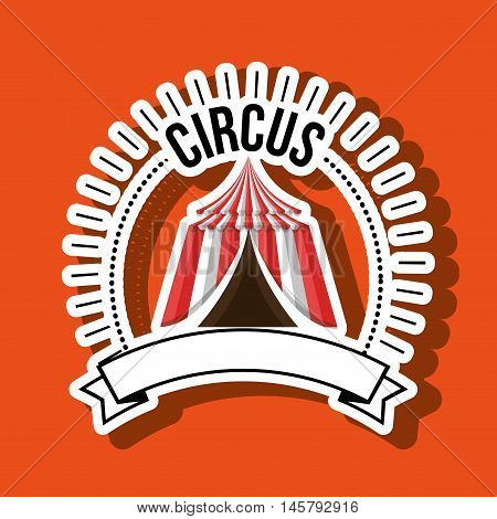 big top fun icon vector illustration eps10 eps 10
