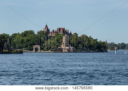 Boldt Castle in the St. Lawrence Seaway