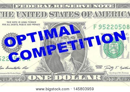 Optimal Competition Concept