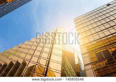 Office building to the sky