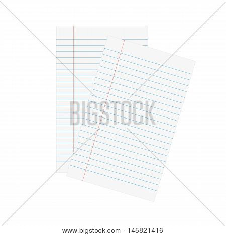 Paper sheet design, vector illustration eps 10.