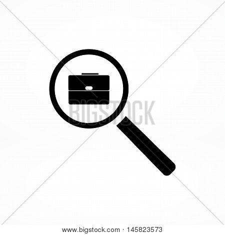 Search Job, Icon