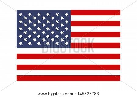 USA flag. Flag of the United States of America