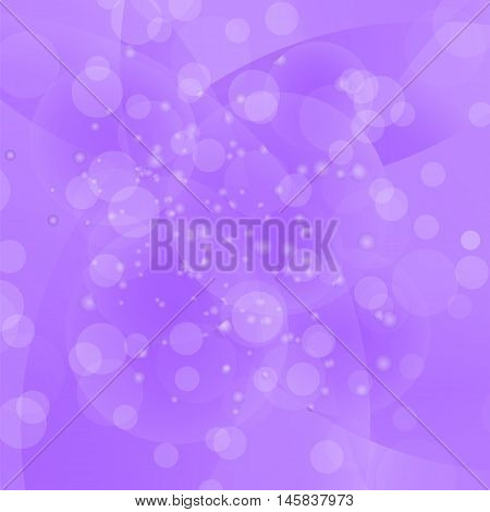Circle Purple Light Background. Round Purple Wave Pattern.