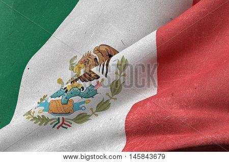 Mexico Flag Waving