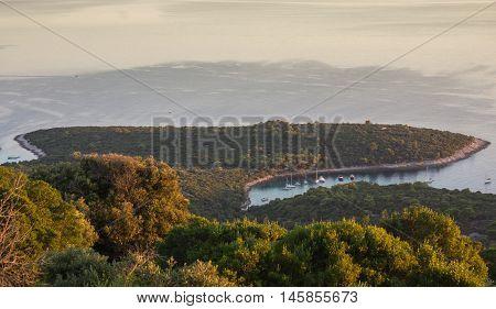 Adriatic Sea  Mali Losinj Island Croatia . poster