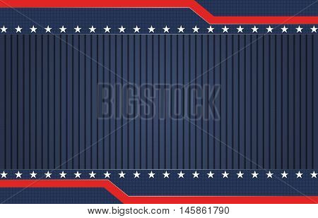 American themed blue patriotic vector background design