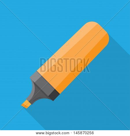 The Marker icon. highlighter pen isolated icon design vector illustration graphic