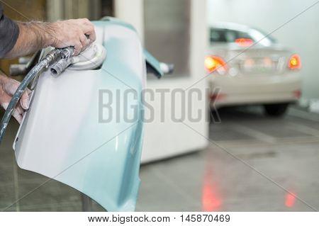 preparation for painting cars bumper shop Body Repair Body Repair Workshop