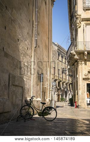 Charming Streets Of Lecce, Italy