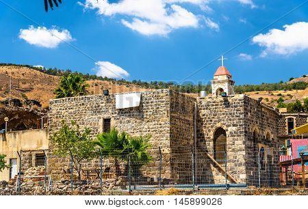 The Greek Orthodox Church in Tiberias - Israel