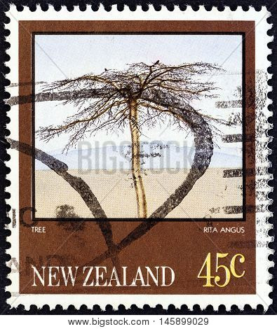 NEW ZEALAND - CIRCA 1983: A stamp printed in New Zealand from the