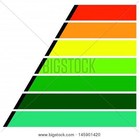 Horizontal Rectangles, Bars Infochart, Presentation Or Banner Templates