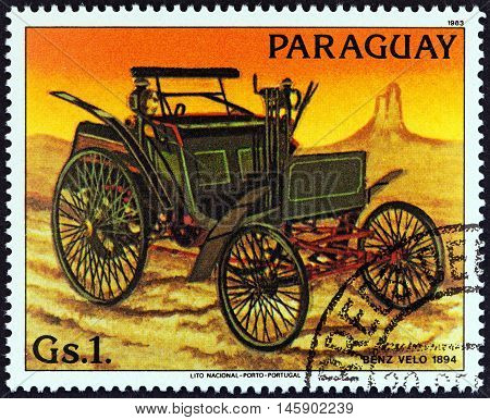PARAGUAY - CIRCA 1983: A stamp printed in Paraguay from the