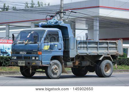 Isuzu Dump Truck Of Sor Service Transport.