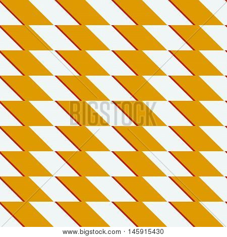 Zigzag Repeatable Pattern With Parallelograms - Geometric Abstract Background
