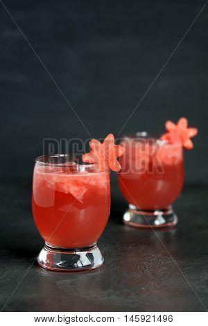 Two Watermelon Drinks