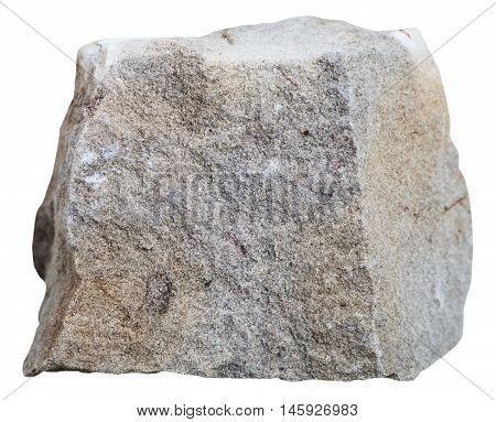 Dolomite Stone Isolated On White Background