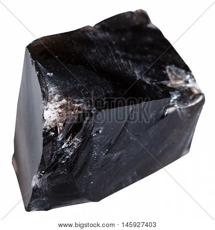 Black Obsidian (natural Volcanic Glass) Stone