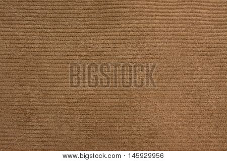 Corduroy pants Texture close up blue fiber background