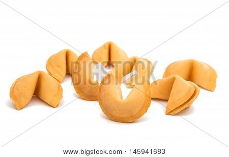 chance Fortune Cookies on a white background