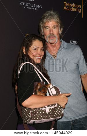 LOS ANGELES - AUG 24:  Devin DeVasquez, dog Prince, Ronn Moss at the Daytime TV Celebrates Emmy Season  at the Television Academy - Saban Media Center on August 24, 2016 in North Hollywood, CA